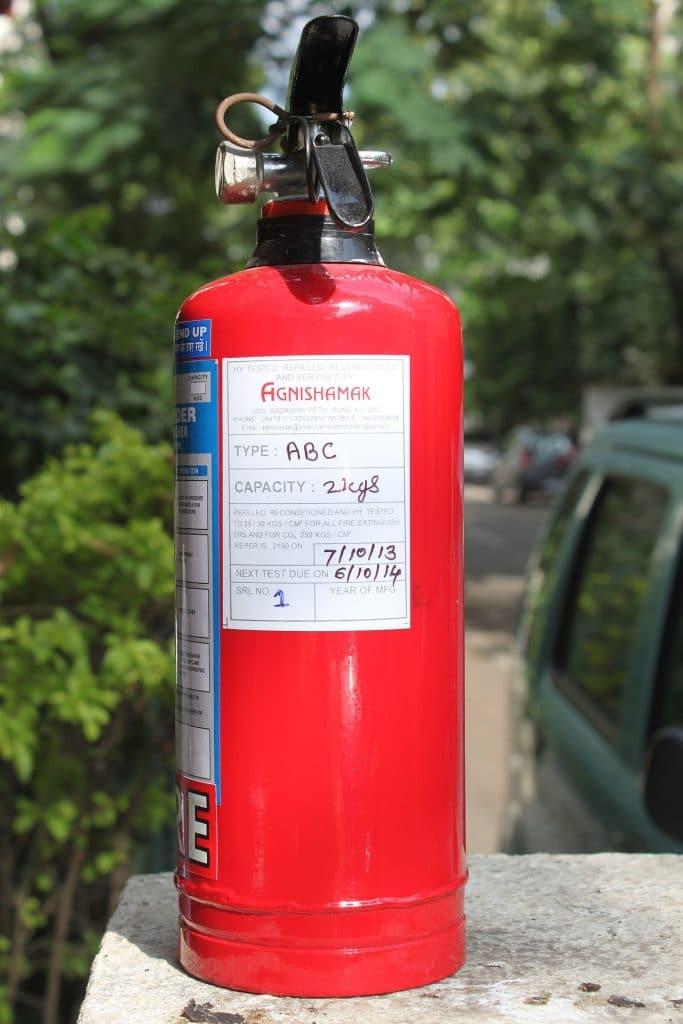 normalización de los sistemas de protección activa contra incendios